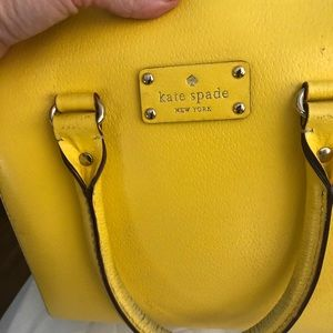 Kate spade yellow purse